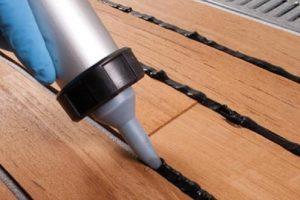 Keo trám khe nhiều màu cho sàn gỗ