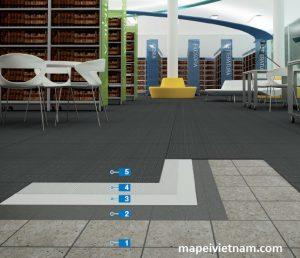 Thi công sàn nhựa PVC trên nền gạch cũ