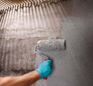 Xi măng chống thấm hai thành phần (các tên gọi khác: vữa xi măng polyme hay sơn chống thấm gốc xi măng)
